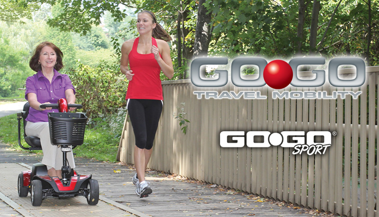 gogo scooter Rent ca
